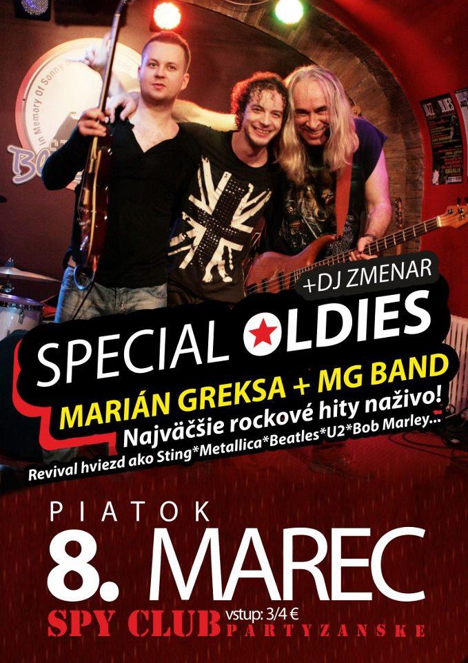 MARIÁN GREKSA + MG BAND / Special Oldies Party