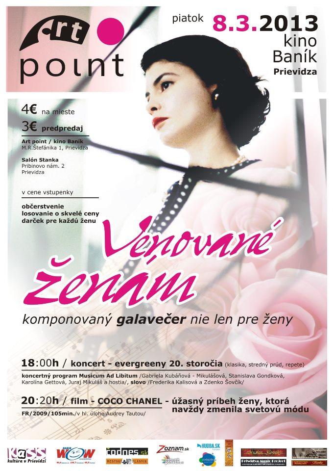 VENOVANÉ ŽENÁM...komponovaný galavečer nie len pre ženy