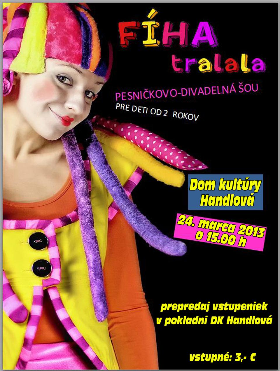 Divadelné pesničielko - FÍHA TRALALA