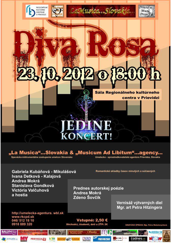 LaMusica Slovakia - Diva Rosa
