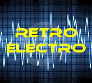 VIDEO RETRO electro party / DJ Caggy