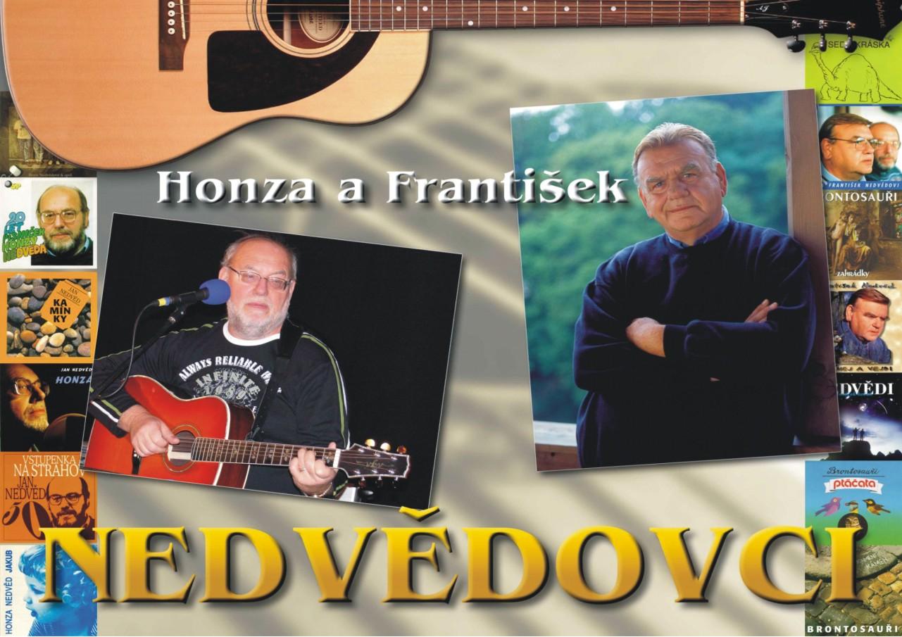 Honza a Franta Nedvědovci s kapelou