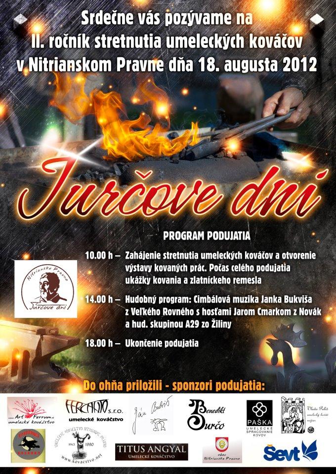 JURČOVE DNI - celoslovenské stretnutie umeleckých kováčov