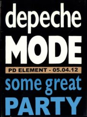 Some great party 1 - DEPECHE MODE & RETRO ELECTRO night
