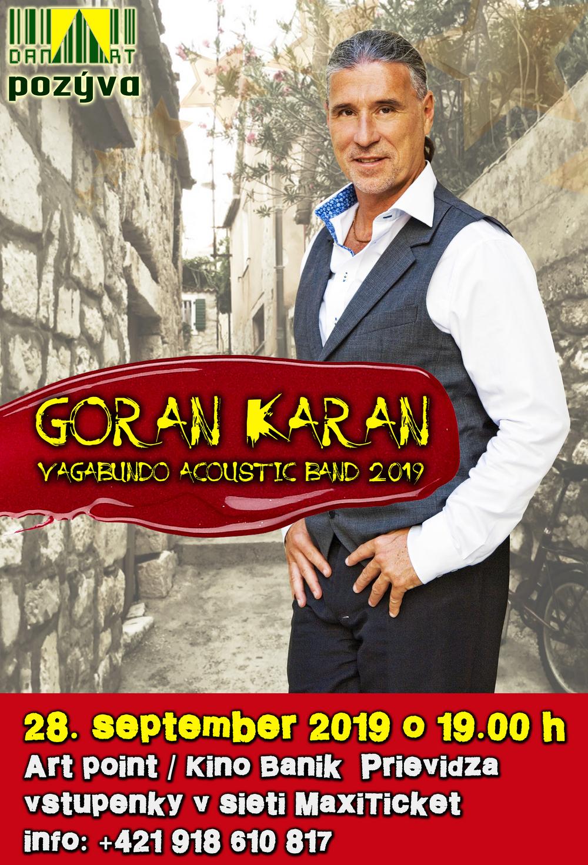 Goran Karan & Vagabundo Acoustic Band 2019
