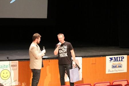Foto a video: Greenpeace o zmenách klímy a ťažbe uhlia na Hornej Nitre - diskusia s riaditeľkou Greenpeace Ivanou Kohutkovou a Radekom Kubalom 5