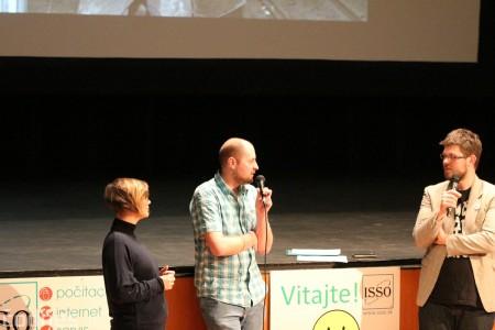 Foto a video: Greenpeace o zmenách klímy a ťažbe uhlia na Hornej Nitre - diskusia s riaditeľkou Greenpeace Ivanou Kohutkovou a Radekom Kubalom 14