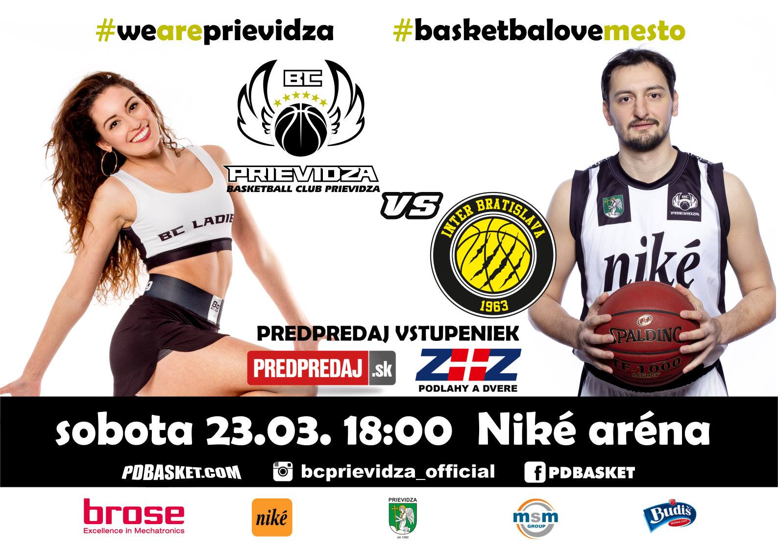 BC Prievidza - Inter Bratislava