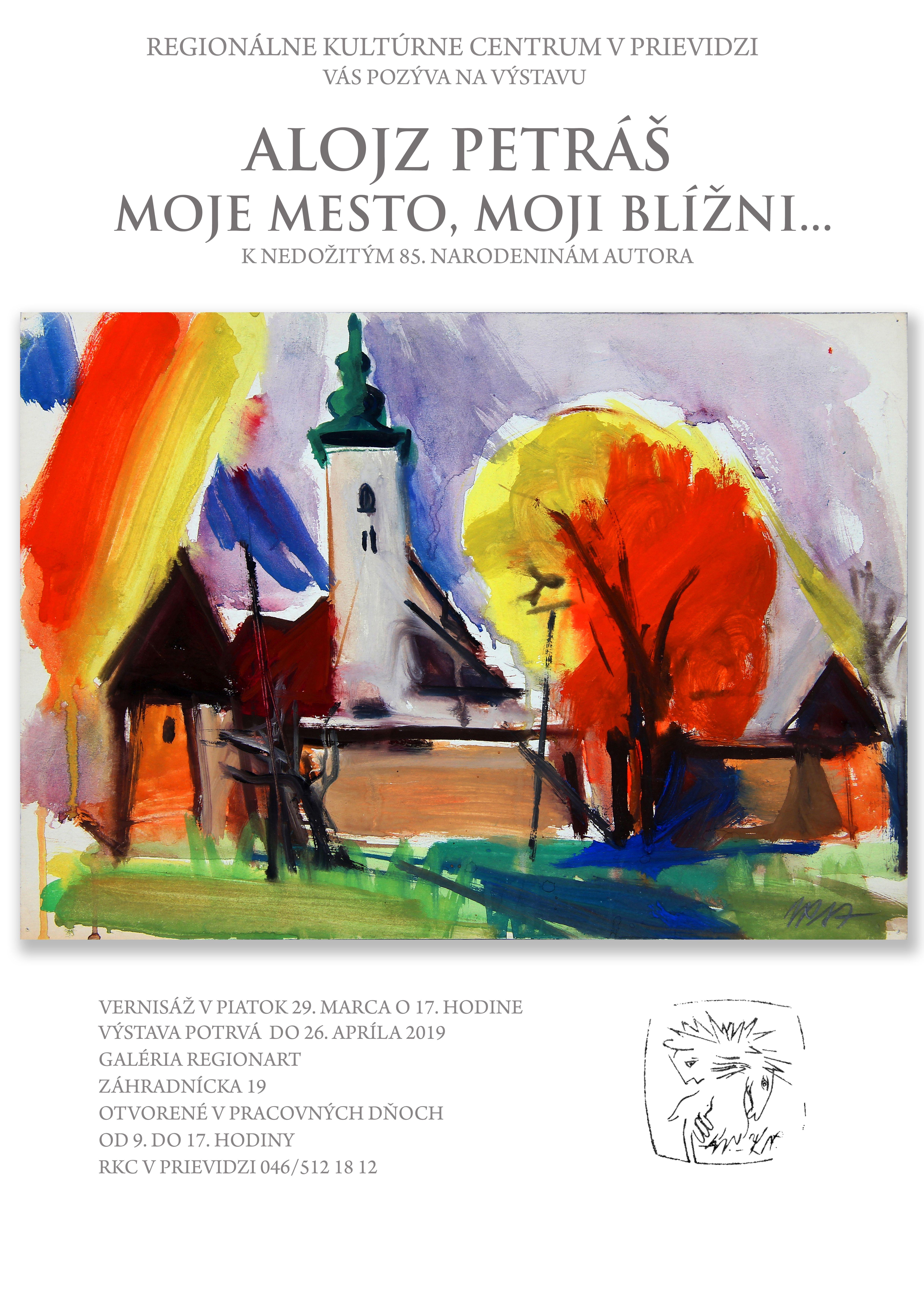 Alojz Petráš - Moje mesto, moji blížni