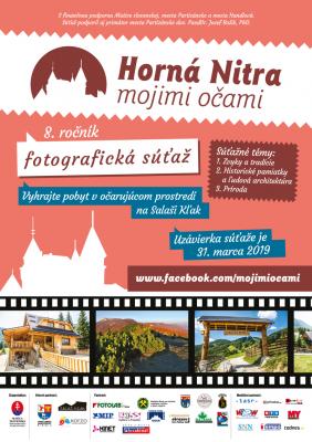 8. ročník fotografickej súťaže Horná Nitra mojimi očami