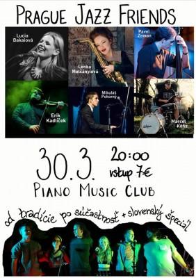 Koncert Prague jazz friend