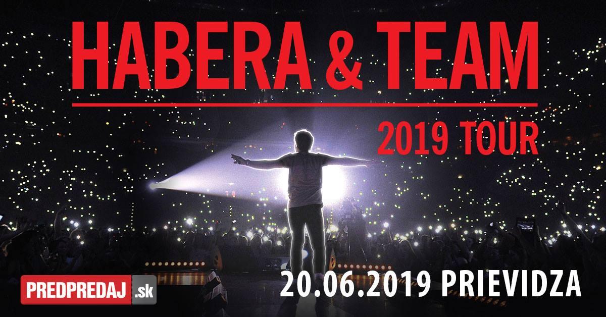 HABERA & TEAM 2019 TOUR - Prievidza