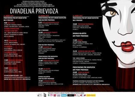Foto: Predstavenie Jedna na druhú a vyhodnotenie festivalu Divadelná Prievidza 2019 18