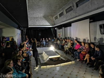 Foto: Predstavenie Jedna na druhú a vyhodnotenie festivalu Divadelná Prievidza 2019