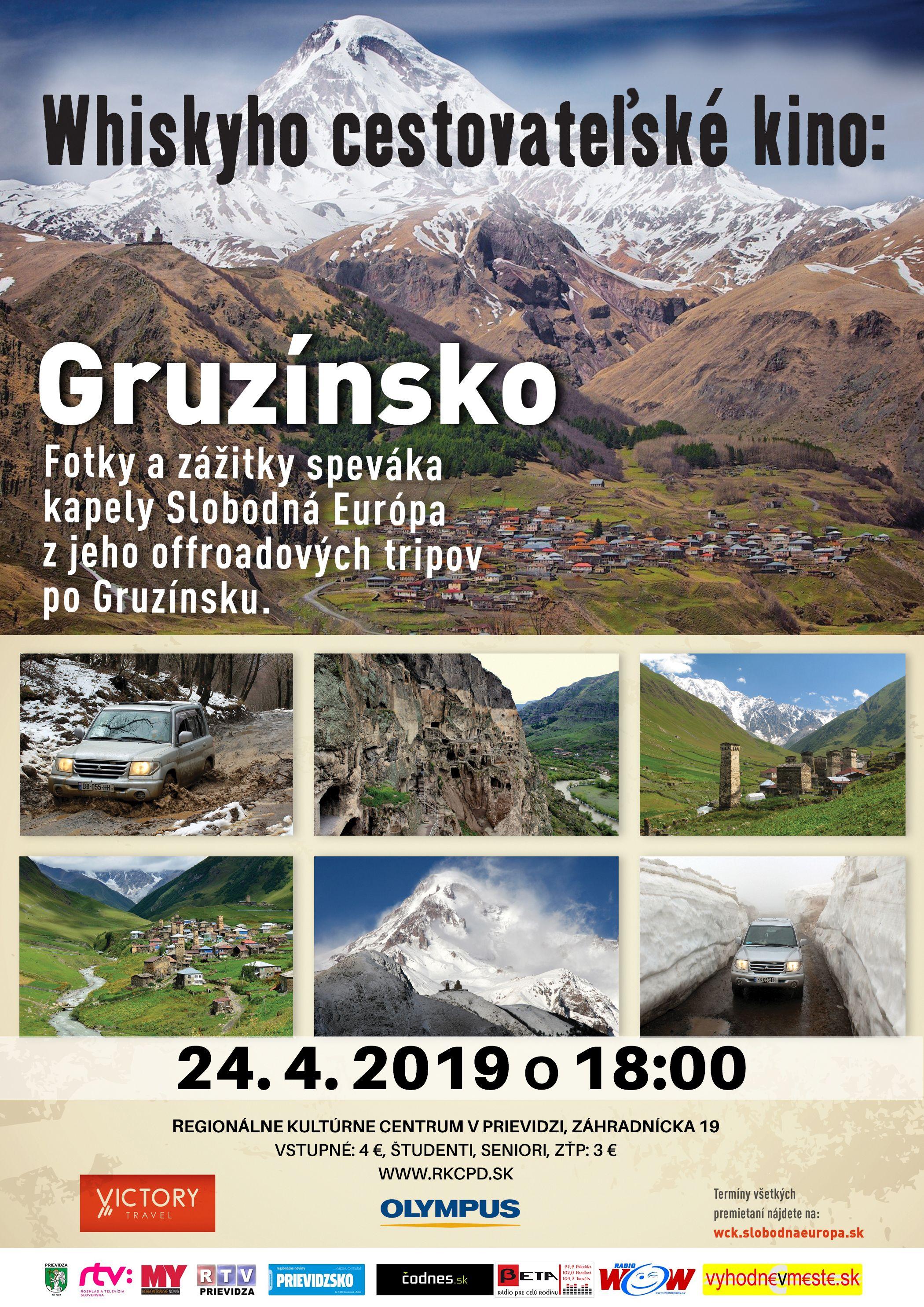 84fe16afab673 Whiskyho cestovateľské kino: Gruzínsko | codnes.sk