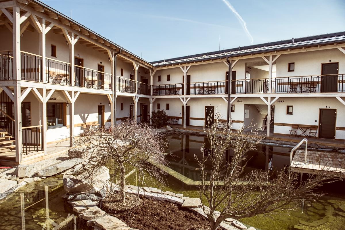 Foto: Novopostavený penzión Meridiana v Bojniciach