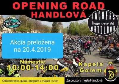 Otvorenie moto sezóny na hornej Nitre 2019 - opening road