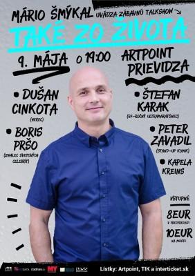 Talkshow Také zo života s Dušanom Cinkotom (Prievidza)