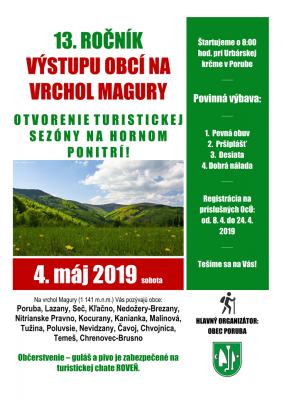 13. ročník Výstupu obcí na Maguru