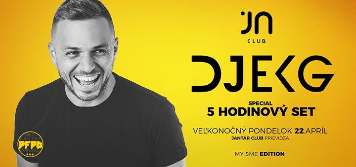 DJ EKG Special 5 hodinový set /Jantár Prievidza / 22.4
