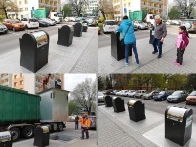 Foto a video: Prievidza spúšťa používanie podzemných zapustených kontajnerov
