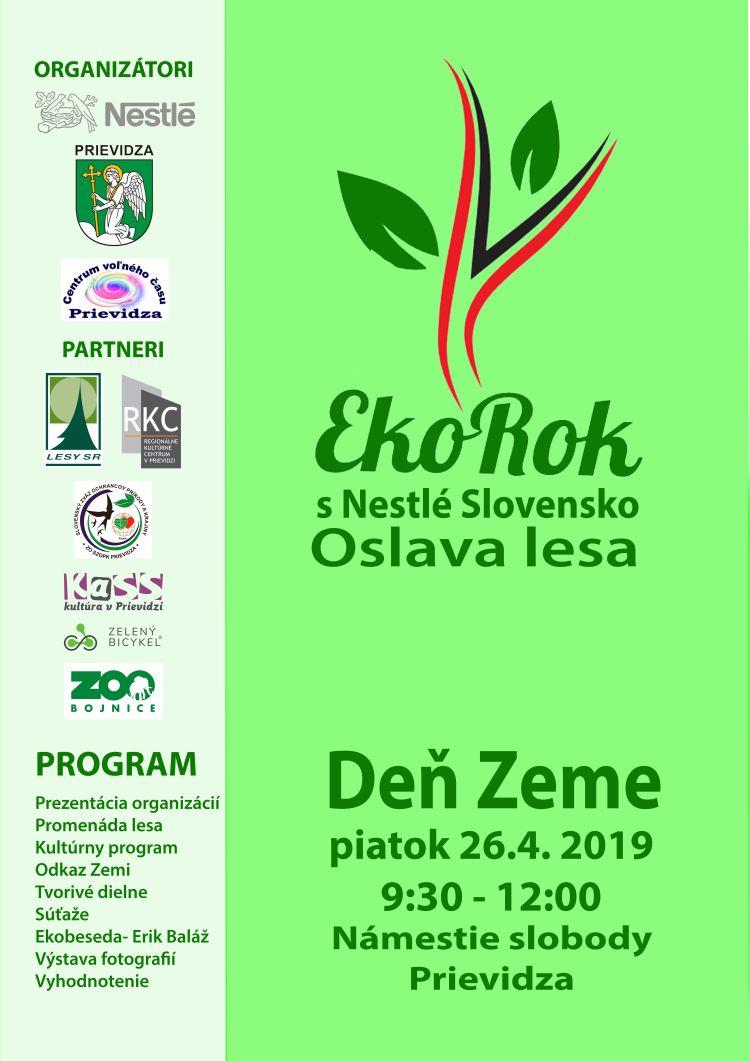 EKOROK 2019 - Oslava lesa