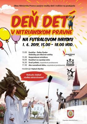 Medzinárodný deň detí v Nitrianskom Pravne