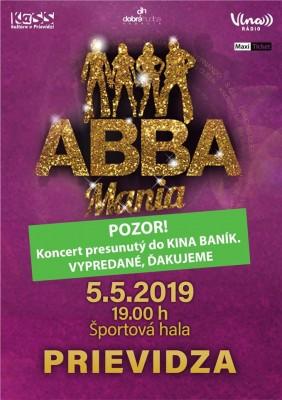 ABBA Mania Tour 2019 - ABBA STARS, Prievidza