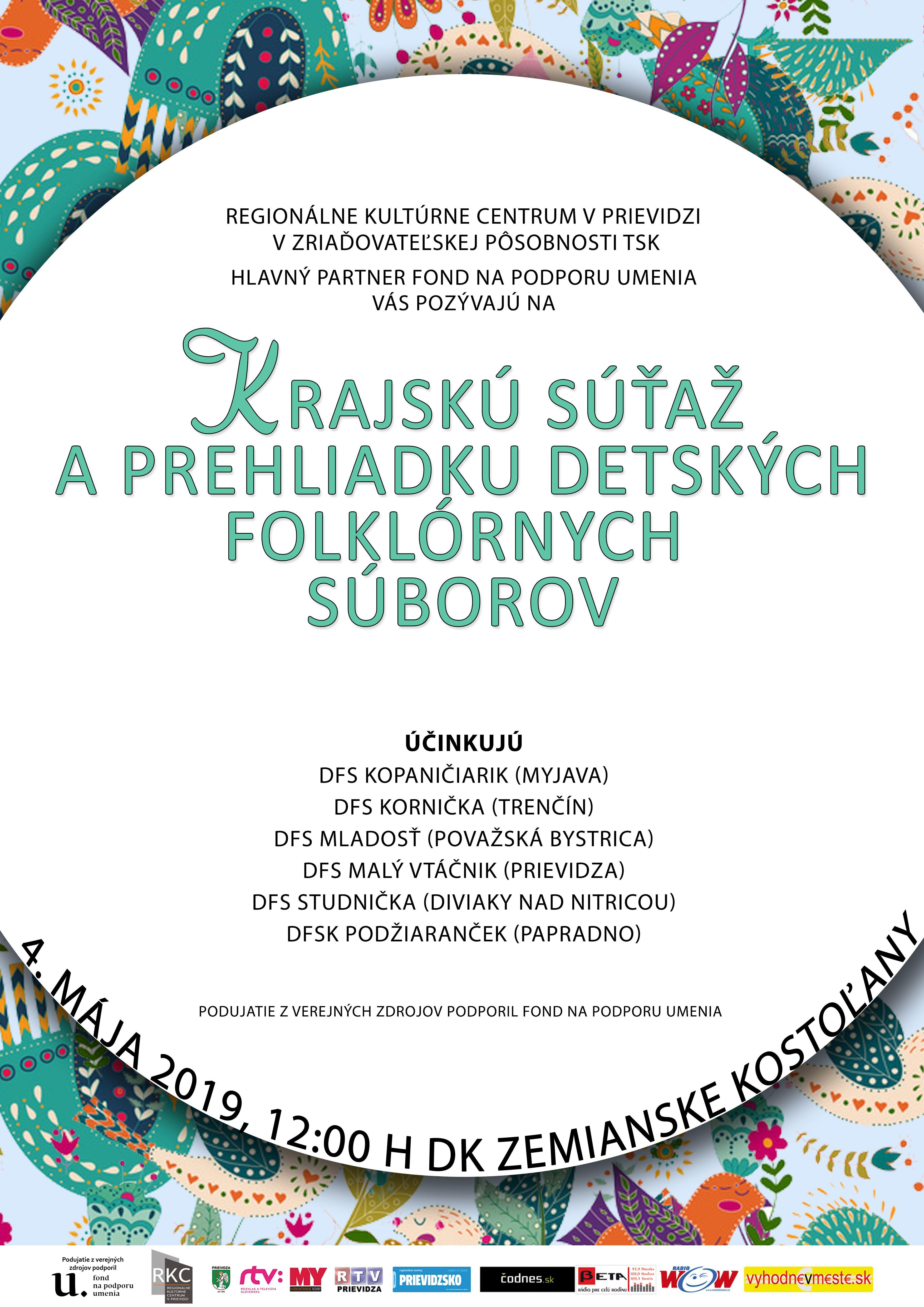 Krajská prehliadka detských folklórnych skupín