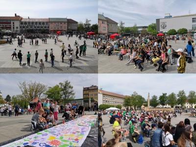 Foto: Prievidzské deti oslavovali les na akcii EKOROK 2019