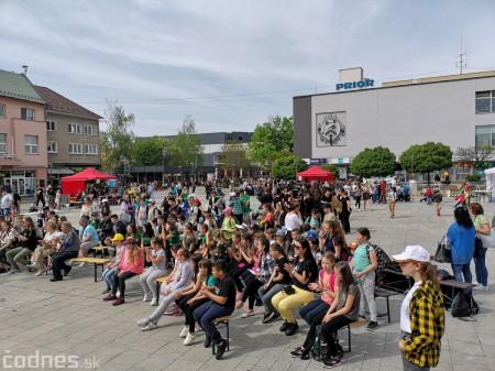 Foto: Prievidzské deti oslavovali les na akcii EKOROK 2019 2