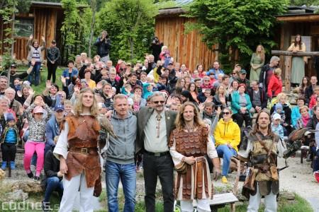Foto a video: Bojnice - OTVORENIE LETNEJ TURISTICKEJ SEZÓNY 2019 a Oslava 25.výročia Sokoliarov Aquila 70