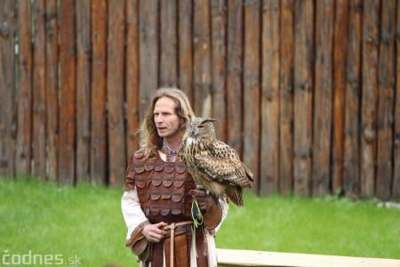 Foto a video: Bojnice - OTVORENIE LETNEJ TURISTICKEJ SEZÓNY 2019 a Oslava 25.výročia Sokoliarov Aquila 86