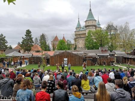 Foto a video: Bojnice - OTVORENIE LETNEJ TURISTICKEJ SEZÓNY 2019 a Oslava 25.výročia Sokoliarov Aquila 98