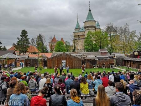 Foto a video: Bojnice - OTVORENIE LETNEJ TURISTICKEJ SEZÓNY 2019 a Oslava 25.výročia Sokoliarov Aquila 99