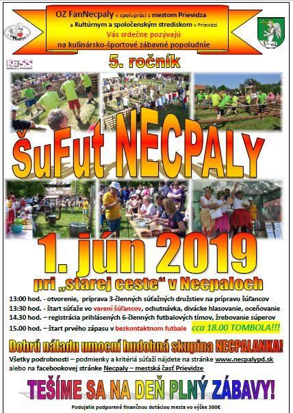 ŠuFut Necpaly 2019