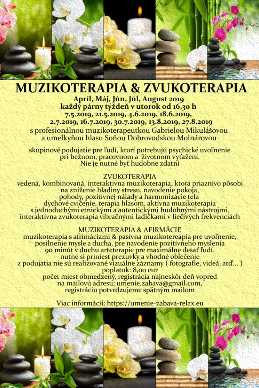 MUZIKOTERAPIA & ZVUKOTERAPIA - LaMusica Therapia