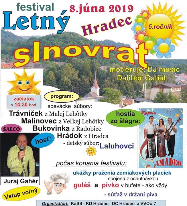 Letný slnovrat 2019 - Hradec