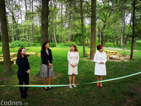 Foto a video: V Mestskom parku v Prievidzi pribudla nová pikniková zóna 11