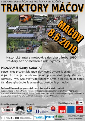 TRAKTORY MÁČOV 2019