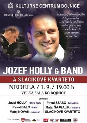 JOZEF HOLLY A SLÁČIKOVÉ KVARTETO