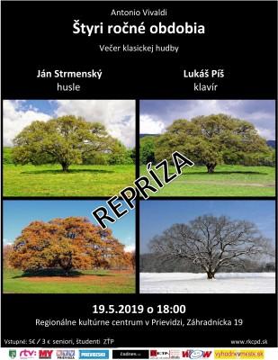 Večer klasickej hudby / repríza: A. Vivaldi - Štyri ročné obdobia