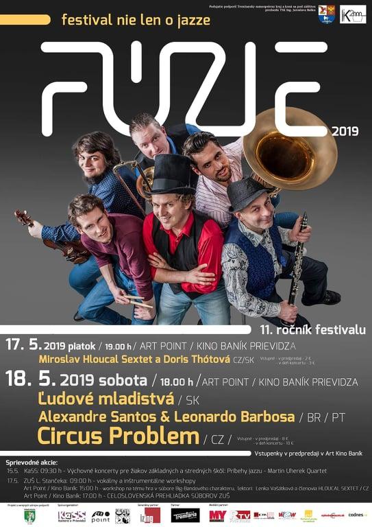 FÚZIE - festival nielen o jazze 2019
