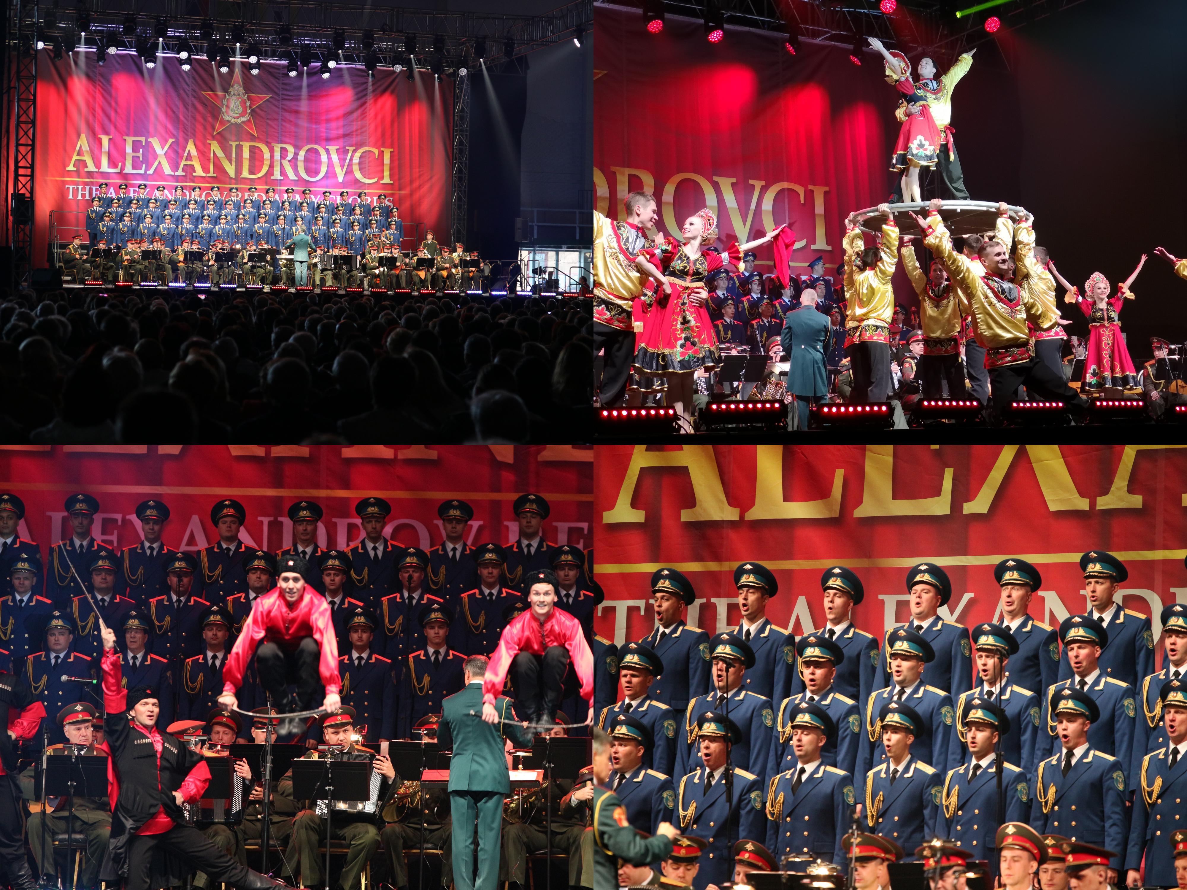 Foto a video: Alexandrovci European Tour 2019 - Prievidza