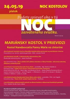 NOC KOSTOLOV 2019