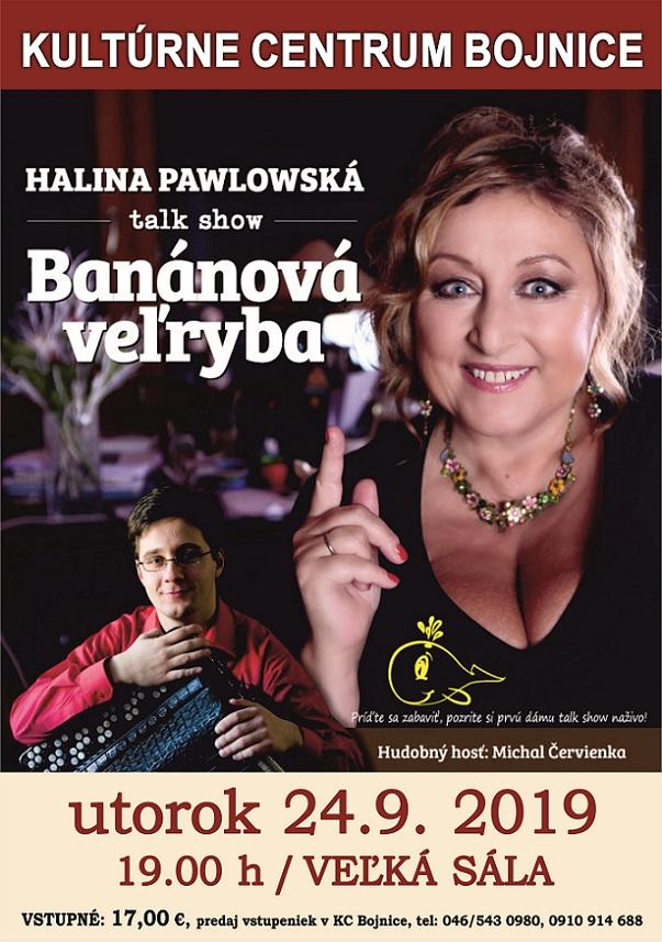BANÁNOVÁ VEĽRYBA – talk show Haliny Pawlowskej
