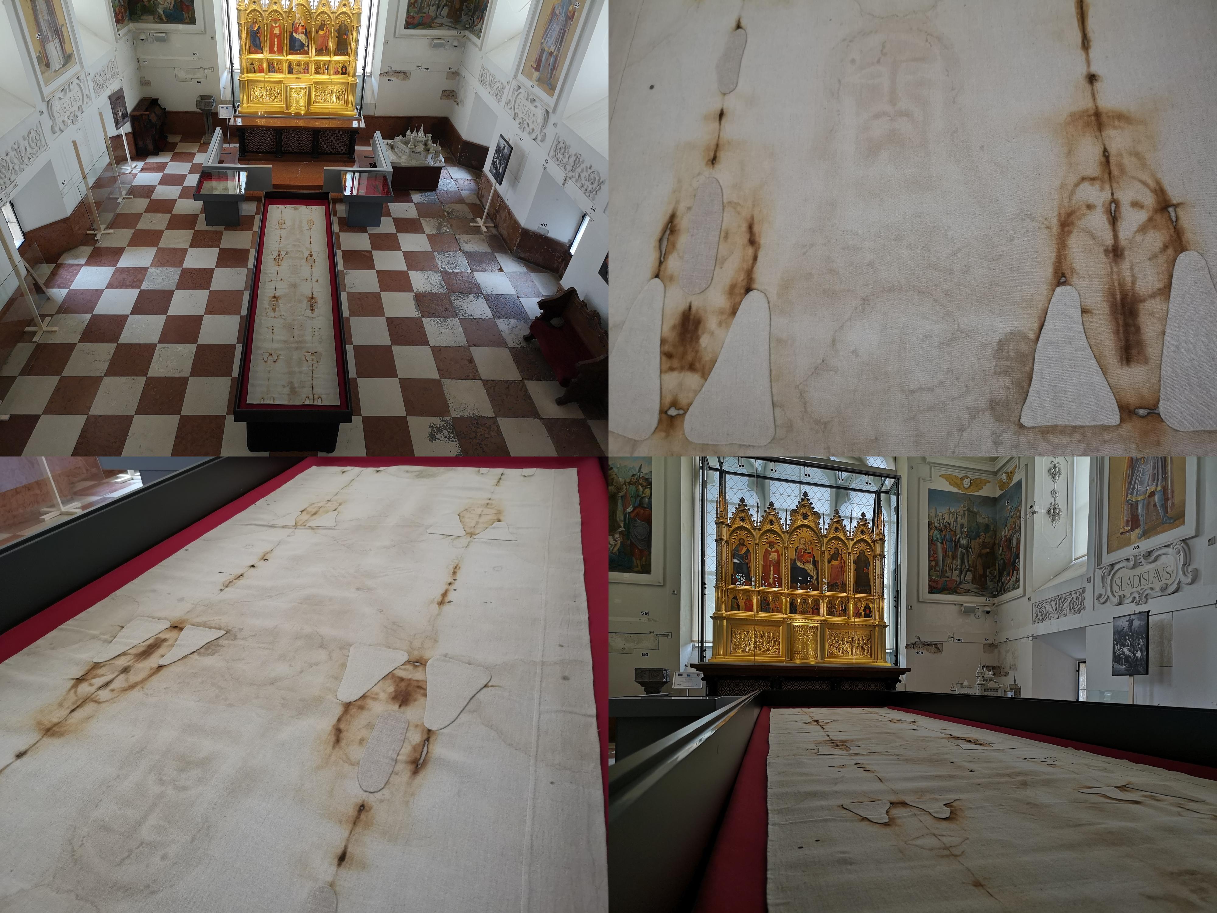 Foto a video: Turínske plátno na Bojnickom zámku