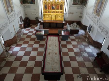 Foto a video: Turínske plátno na Bojnickom zámku 2