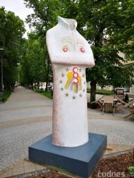 Foto a video: Výstava na pešej promenáde BOJNICE V SOCHE 4. ročník 0