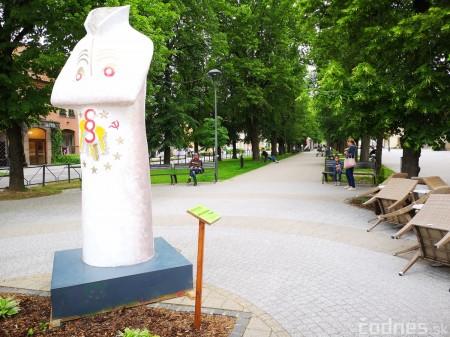 Foto a video: Výstava na pešej promenáde BOJNICE V SOCHE 4. ročník 1